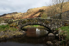 Stone bridge in the English Lake District Royalty Free Stock Photography