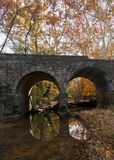 Stone bridge in fall Stock Image