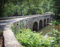 Stone Bridge. Glass Mill Bridge in Kentucky stock image