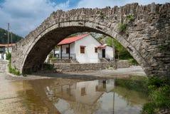 Stone bridge in Greece Stock Image
