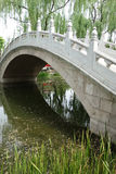 Stone Bridge In Beijing Yuanmingyuan Stock Image