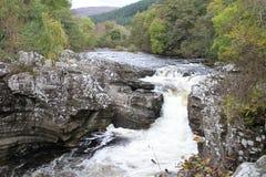 Stone bridge at Invermoriston in the Highlands Royalty Free Stock Photo