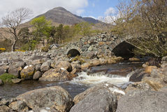 Stone Bridge, Isle of Mull Stock Photo
