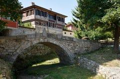 Stone bridge in Koprivshtitsa Stock Photo