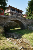 Stone bridge in Koprivshtitsa Stock Image
