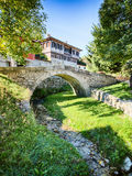 Stone Bridge in Koprivshtitsa, Bulgaria Royalty Free Stock Image