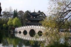 Stone bridge. Of Kun ming  china Royalty Free Stock Photo