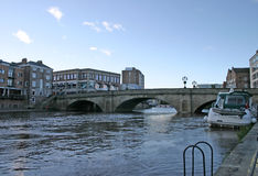 Stone Bridge over the River Ouse in York Stock Photo