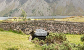 Stone bridge over river by Wastwater Royalty Free Stock Photo