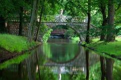 Stone bridge. Stock Photo