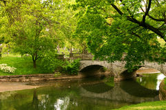 Stone Bridge Reflections Royalty Free Stock Photo