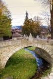 Stone bridge  in the  revival city of  Koprivshtitza Stock Photography