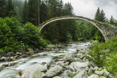 Stone Bridge, Rize, TURKEY. Stone Bridge, Rize Arhavi, TURKEY Stock Photo
