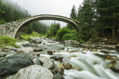 Stone Bridge, Rize, TURKEY. Stone Bridge, Rize Arhavi, TURKEY Royalty Free Stock Images