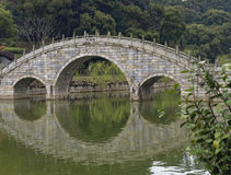 Stone bridge. This is a stone bridge in the south of China Royalty Free Stock Image