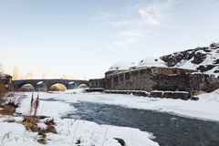 Stone Bridge (Taskopru) Kars, Turkey Stock Images