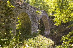 Stone Bridge, Ticino, Switzerland Royalty Free Stock Image