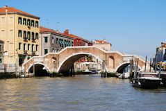 Stone bridge, Venice Stock Photography