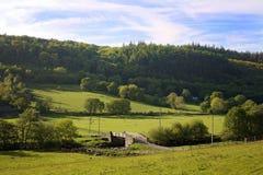 Stone Bridge in Wales Pasture Royalty Free Stock Photos