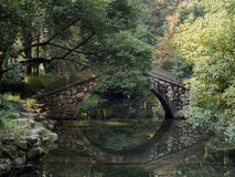 Stone bridge  at westlake hangzhou Royalty Free Stock Photography