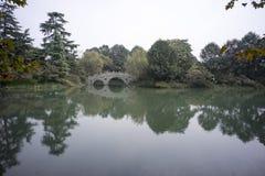 Stone bridge, westlake hangzhou Royalty Free Stock Photography