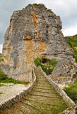 Stone bridge in Zagoria Stock Photos