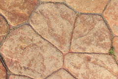Stone brown Stock Image