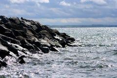 stone brzegu wody Obraz Royalty Free