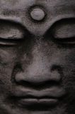 Stone Buddha. An close up of a stone statue of Buddha Royalty Free Stock Photos