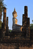 Stone buddha. Historical monuments in the park stone Buddha Stock Images