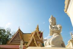 Stone Buddha, Cambodia Stock Photography