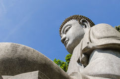 Stone buddha at Chin Swee Caves Temple,Genting Highlands. Genting Highlands,Malaysia - January 25,2015:Stone buddha which is located at Chin Swee Caves Temple Royalty Free Stock Photography