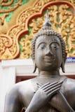 Stone Buddha face Stock Photo