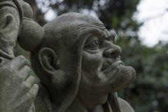 Stone buddha figure Stock Image