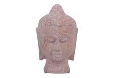 Stone Buddha head Royalty Free Stock Photography