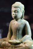 Stone Buddha, Khmer style Royalty Free Stock Images