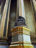 Stone Buddha Phra Mondob Bangkok Thailand Royalty Free Stock Photos