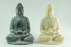 2stone Buddha sakyamuni Fotografia Stock