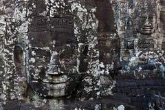 Stone Buddha Sculptures Royalty Free Stock Photos