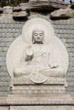 Stone Buddha Statue Royalty Free Stock Images