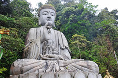 Stone Buddha Statue Royalty Free Stock Photos