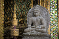 Stone Buddha statue Royalty Free Stock Images
