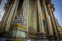 Stone Buddha statue. In Grand Royal Palace in Bangkok, Thailand Stock Images