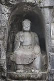 Stone buddha statue in Hangzhou Royalty Free Stock Images