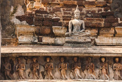 Stone Buddha statue Stock Photos