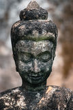 Stone Buddha. A statue of Buddha taken at the buddha park  Xieng Khuan in Vientiane, Lao Stock Photo