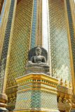 Stone Buddha statue in Temple Stock Photos