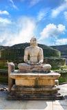 Stone Buddha on Vatadage Royalty Free Stock Photo
