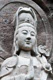 Stone Buddha Royalty Free Stock Image