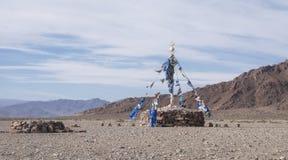 Stone Buddhist monument Stock Image